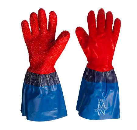 marwear blue and red gloves